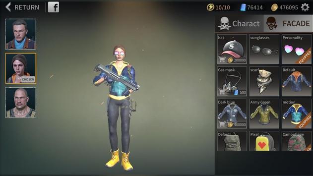 Zombie City : Dead Zombie Survival Shooting Games screenshot 13