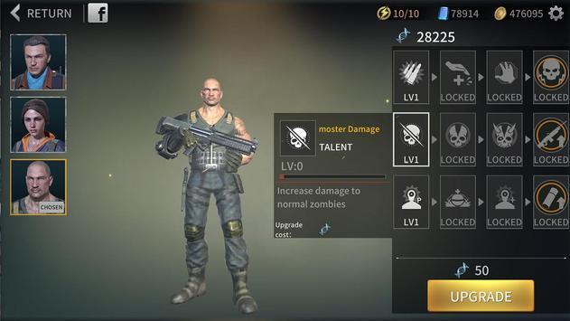 Zombie City : Dead Zombie Survival Shooting Games screenshot 1