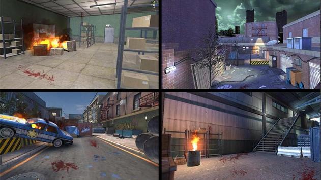 Zombie City : Dead Zombie Survival Shooting Games screenshot 2