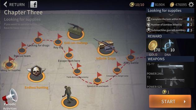 Zombie City : Dead Zombie Survival Shooting Games screenshot 8