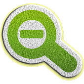 Close Up-zoomed image icon