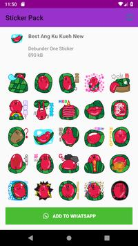 Best Ang Ku Kueh Girl Stickers WastickerApps 2019 screenshot 2