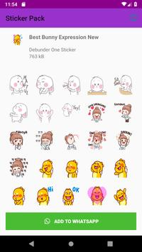 New Collection Anime Stickers - WAStickerApps 2019 screenshot 2