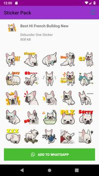 New Cute Dog Sticker Pack for Whatsapp 2019 screenshot 4