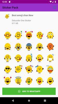 Best Collection Emoji Sticker Pack for Whatsapp screenshot 5