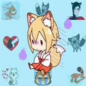 New Collection Fox Stickers for WAStickerApps 2019 icon