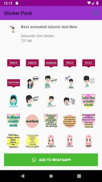 New Collection Islamic WastickerApps for Whatsapp screenshot 3