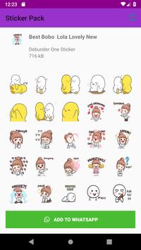 Best Collection Love Stickers  For WhatsApp 2019 screenshot 1