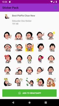 New Monkey Sticker Pack for WAStickerApps 2019 screenshot 5