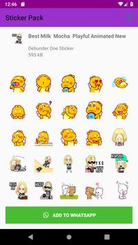 New Stickers Store for WhatsApp WAStickerApps 2019 screenshot 5