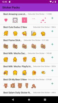 New Stickers Store for WhatsApp WAStickerApps 2019 poster