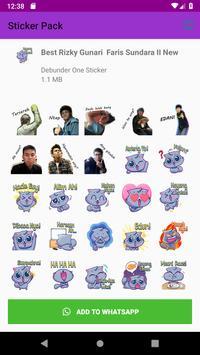 New Sticker Sunda Kocak Terbaru WAStickerApps 2019 screenshot 2