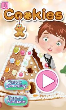 Cookies Maker - kids games screenshot 1