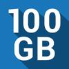 100 GB の無料クラウドバックアップ : Degoo アイコン
