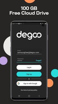 Degoo poster