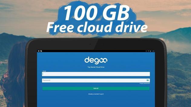 100 GB pencadangan gratis screenshot 10