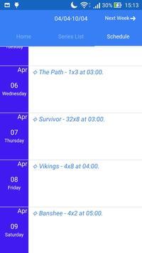 Tv Series Archiver screenshot 3