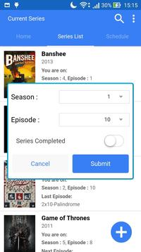 Tv Series Archiver screenshot 2