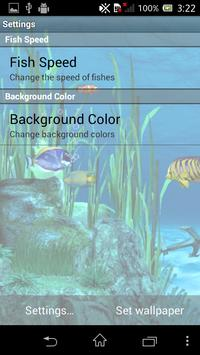 Galaxy Aquarium Live Wallpaper screenshot 1