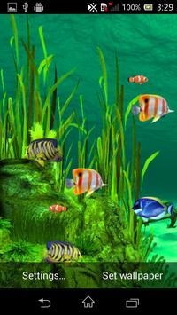 Galaxy Aquarium Live Wallpaper screenshot 2