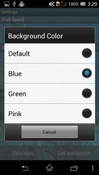 Galaxy Aquarium Live Wallpaper screenshot 4