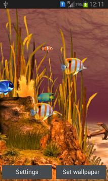Galaxy Aquarium Live Wallpaper screenshot 5