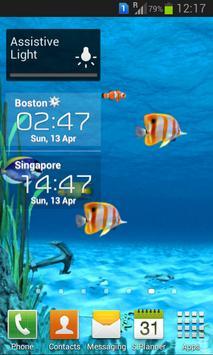 Galaxy Aquarium Live Wallpaper screenshot 6