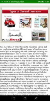 CarInsurance | Get to know about Auto Insurances screenshot 1