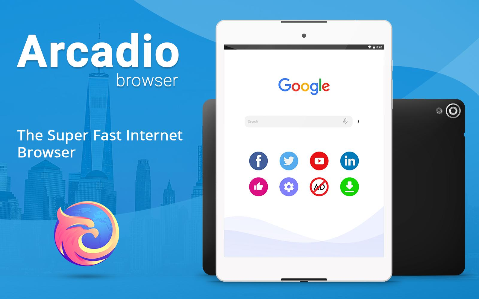 Browser for free - Unlimited Video Download & Fast for