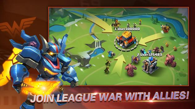 Heroes Brawl: Monster Clash - Defense Zombies ポスター