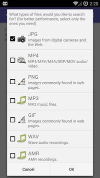 DiskDigger screenshot 5