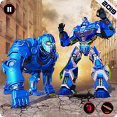 Ultimate Police Robot Transform: City Rampage icon