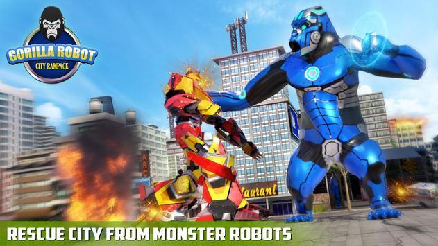 Ultimate Police Robot Transform: City Rampage screenshot 5