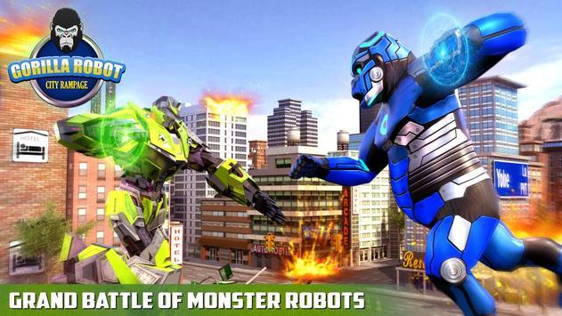 Ultimate Police Robot Transform: City Rampage screenshot 6