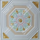 decoration of gypsum ceilings icon