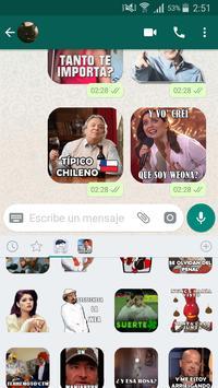 Stickers chilenos para chatear por WSP 截图 1