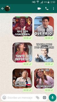 Stickers chilenos para chatear por WSP 截图 2