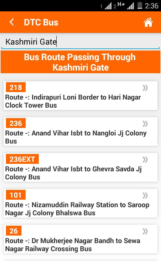 Delhi Metro Map,Fare, Route , DTC Bus Number Guide for