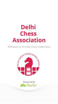 Delhi Chess Association poster