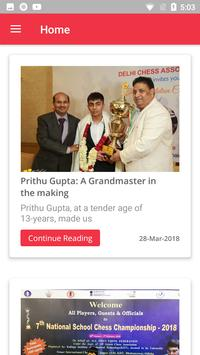 Delhi Chess Association screenshot 2