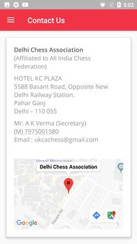 Delhi Chess Association screenshot 5