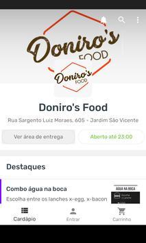Doniro's Food poster