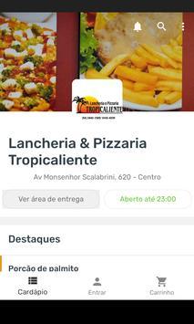 Lancheria & Pizzaria Tropicaliente poster