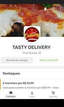 TASTY DELIVERY poster