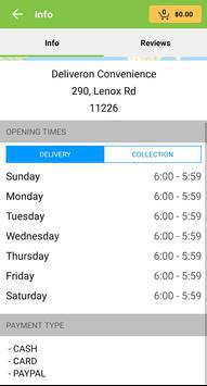 Deliveron screenshot 3