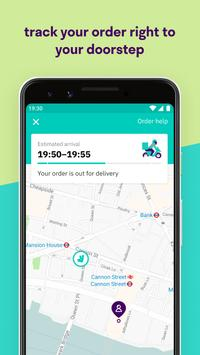Deliveroo स्क्रीनशॉट 3