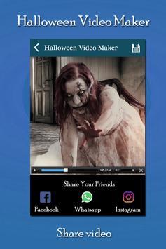 Halloween Video Slideshow Maker screenshot 2