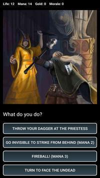 D&D Style Medieval Fantasy RPG (Choices Game) スクリーンショット 6