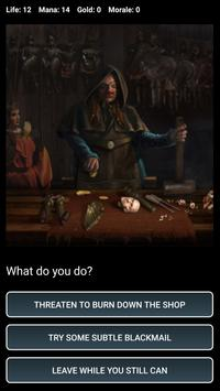 D&D Style Medieval Fantasy RPG (Choices Game) スクリーンショット 7