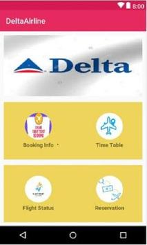 Booking Delta Airline poster